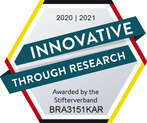 Inovvative Through Research - Medal by Stifterverband